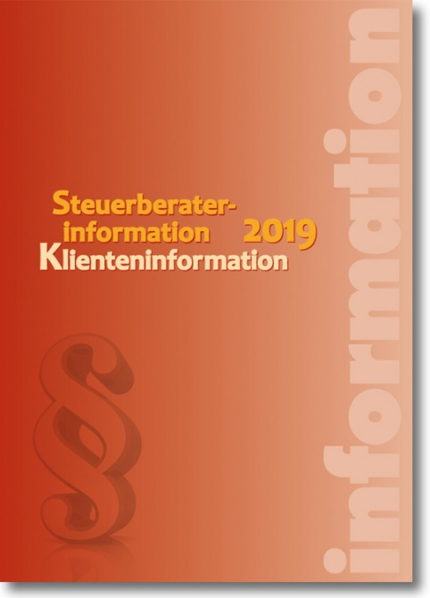 Artikelbild: Steuerberaterinformation / Klienteninformation 2019